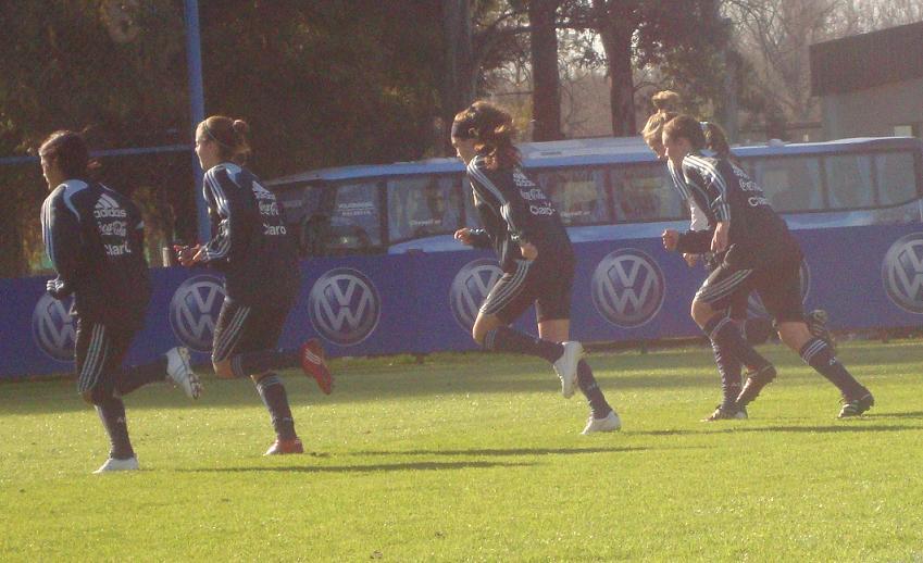 Femenino Sub 20: Comienza su preparación para la Copa Mundial