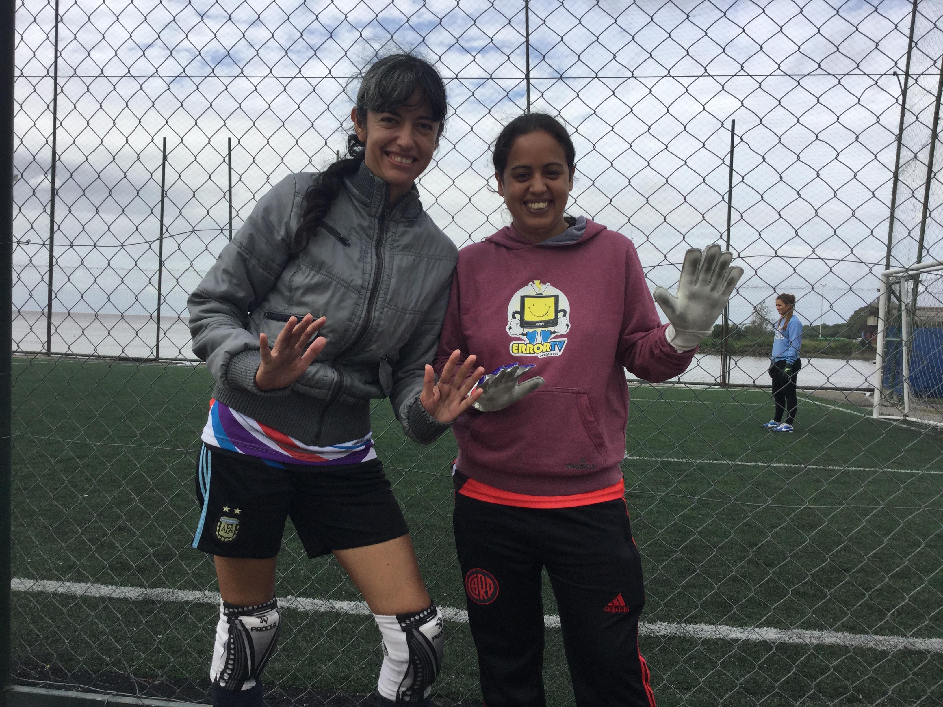 Verónica y Luciana