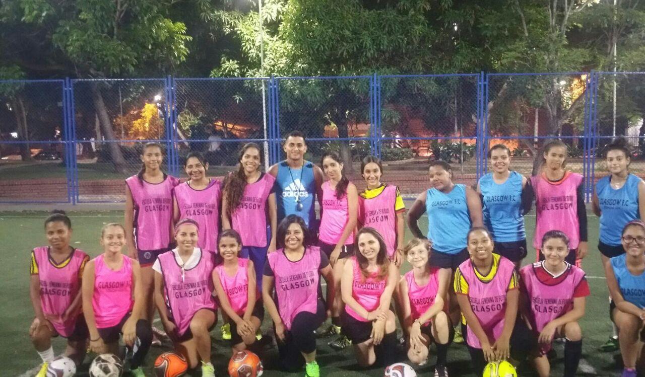 Conocé a Glasgow, la escuela de Fútbol Femenino en Colombia