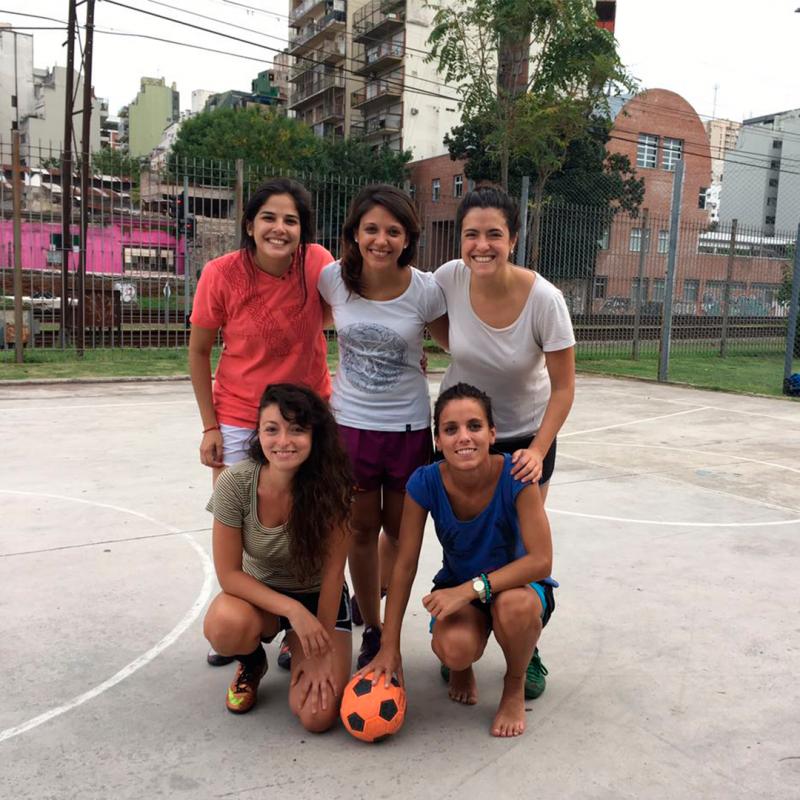 """Las Fulbitas"", Escuela de Fútbol Femenino para nenas"