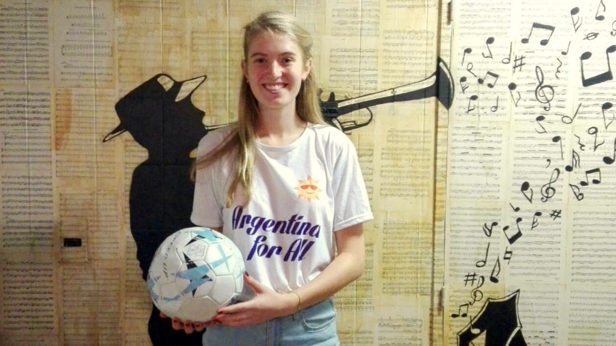 Fútbol femenino de Holanda a Argentina