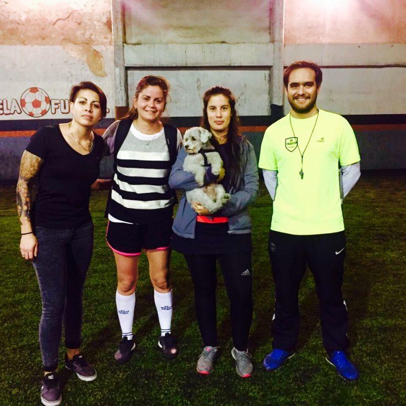 Entrenamiento de Fútbol Femenino con 'De Taquito'