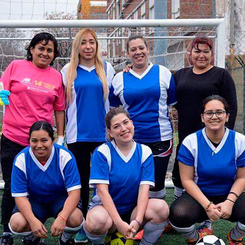 Las 'Lunáticas' del Fútbol Femenino