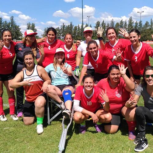 Fútbol Femenino con Las Warriors