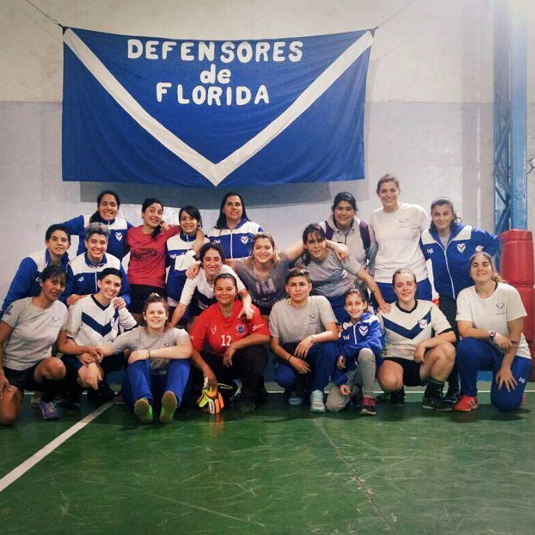 Defensores de Florida y su proyecto de fútbol femenino