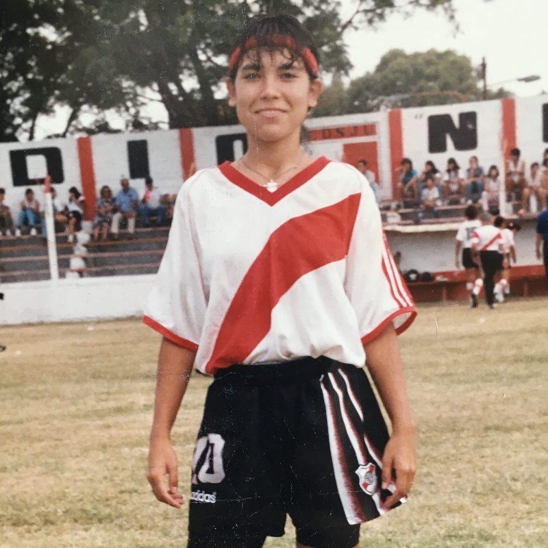 Gritalo: Yanina Gaitán, la primera jugadora argentina en marcar un gol en un Mundial